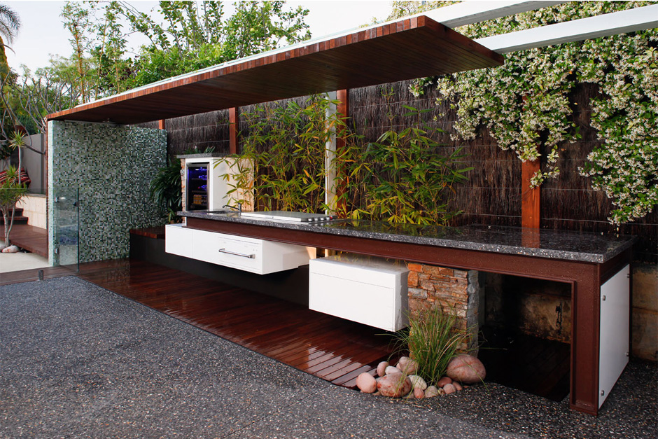 Robyn archer for Outdoor kitchen australia